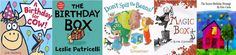 Birthday Storytime - lots of book ideas, rhymes, songs, crafts and MORE!