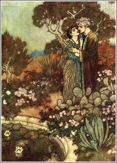 Edmund Dulac - 1909 The Rubáiyát of Omar Khayyám