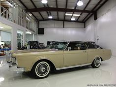 : 1969 LINCOLN CONTINENTAL MARK III Shay always bought a new silver Lincoln continental Mark, starting with the III