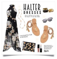 """""""Halter Dress!"""" by diane1234 ❤ liked on Polyvore featuring Cocobelle, Marni, Folli Follie and Smashbox"""