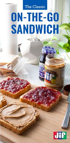 Back to school means it's time to stock up on Jif Peanut Butter and Smucker's Jelly! Spread the PB&J love! Explore awesome recipes, fun gifs, and know-how, for the ultimate PB&J fan in your fam at LovePBJ.com