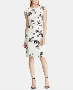 Earnest Ann Taylor Loft Womens Petite Floral Print Lined Flare Skirt Size 14p Women's Clothing