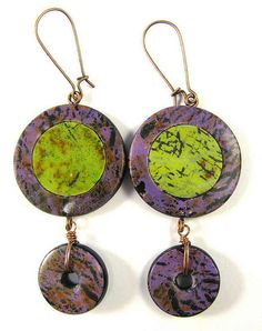 Polymer Clay Earrings  Fabulous Faux Collection  by DivaDesignsInc, $30.00  https://www.etsy.com/listing/161476202/polymer-clay-earrings-fabulous-faux