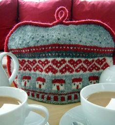 Ravelry: Home Sweet Home Tea cosy pattern by Julia Marsh