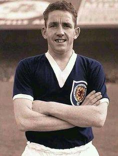 Dave Mackay of Scotland in 1964.