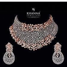 Diamond Pendant Collection K L – Modern Jewelry Indian Jewelry Sets, Indian Wedding Jewelry, Diamond Necklace Set, Diamond Jewellery, Gold Jewelry, Diamond Choker, Indian Diamond Necklace, Resin Jewellery, Necklace Box