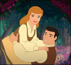 Hell Yeah Disney Prince — Prince Charming and Cinderella (Cinderella) Cinderella And Prince Charming, Cinderella Disney, Disney Princesses, Cinderella Princess, Funny Disney Characters, Disney Cartoons, Disney Love, Disney Art, Crowns