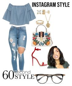 """Sassy 💁🏽"" by holderafiya on Polyvore featuring Madewell, Ileana Makri, 2028, Gucci, Gianvito Rossi, 60secondstyle and PVShareYourStyle"