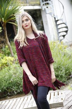 Just arrived in stock #fashion #style #knitwear #tunic #top #scarf