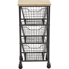 metal and wood office shelves baskets - Google Search