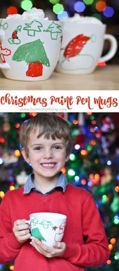 I love this!  So easy, but fun for kids!  I think they'd be a perfect grandparent gift - especially with hot cocoa mix!