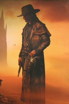 I love Stephen King...always have..The Dark Tower is an amazing series to read..The Gunslinger by Stephen King. Book 1-Dark tower Series.  My favorite series by far! Roland Deshane, you are my hero <3
