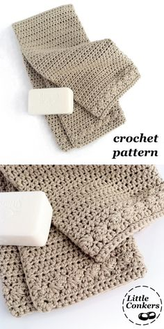 Fully-illustrated crochet pattern for a hand towel or guest towel. Great way to update your bathroom or kitchen decor, also make lovely gifts. One of a matching set of bathroom crochet patterns. Hand Towels Bathroom, Kitchen Hand Towels, Crochet Kitchen Towels, Crochet Towel, Crochet Dishcloths, Free Crochet, White Hand Towels, Linen Stitch, Shabby Fabrics