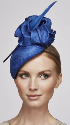 London based milliner Juliette Botterill makes beautiful bespoke headpieces and hats for that special occasion. Millinery Hats, Fascinator Hats, Fascinators, Royal Blue Fascinator, Fancy Hats, Wedding Hats, Love Hat, Ascot, Derby Hats