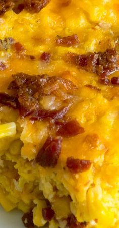 The Best Corn Casserole