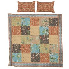 The Dalia patchwork duvet cover - exclusive to Natural Bed Company. http://www.naturalbedcompany.co.uk/shop/indian-cotton-silk-duvet-covers/dalia-duvet-cover/