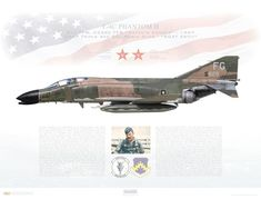 Us Military Aircraft, Military Jets, Air Fighter, Fighter Jets, Robin Olds, F4 Phantom, January 2, Us Air Force, Aviation Art