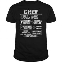 Chef baker sweetface bakery T-Shirts & Hoodies