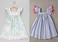 Фотография Sewing Patterns For Kids, Sewing For Kids, Baby Sewing, Summer Dress Patterns, Girl Dress Patterns, Little Girl Dresses, Girls Dresses, Summer Dresses, Fashion Kids