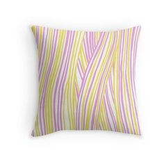 Funky stripes, white, pink and yellow ❤ liked on Polyvore featuring stripe