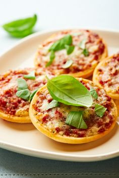 Mini Pizzas (That Don't Involve English Muffins)
