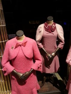 Dolores Umbridge Costumes, 'shades of pink'. Harry Potter films