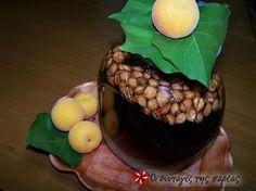 Λικέρ Βερίκοκο #sintagespareas Marmalade, Liquor, Spices, Eggs, Homemade, Tea, Drinks, Cooking, Breakfast