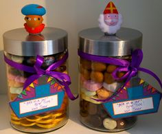 Ideas from the forest, sinterklaas gift in a jar