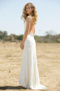 Bridal Fashion: African Safari Lilli Marcs gown