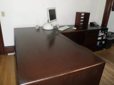 Executive Desk, wood