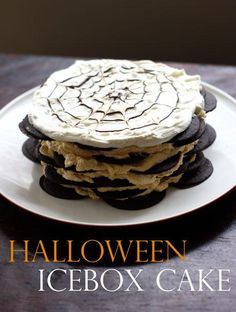 How To Make : Pumpkin and Chocolate Icebox Cake - Halloween Recipe