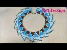 COLLAR AZUL Y BRONCE ESTILO HUICHOL - YouTube Bug Out Bag Checklist, Survival Blanket, Bib Necklaces, Hand Painted Furniture, Bead Weaving, Beaded Earrings, Beading Patterns, Jewels, Make It Yourself