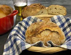 Εύκολο ψωμί χωρίς ζύμωμα | Συνταγή | Argiro.gr Food Categories, Greek Recipes, Bread, Greek Food Recipes, Bakeries, Breads