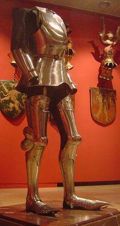 ca. 1450 - 'composite Kastenbrust armour', South German, Wien Museum Karlsplatz, Wien, Austria by roelipilami, via Flickr
