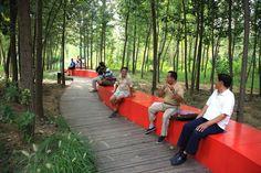 Red Ribbon Park / Turenscape: