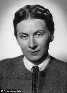 Gertrud Scholtz-Klink was chief of the Nazi bridal schools and trained women to become 'perfect' wives to SS men