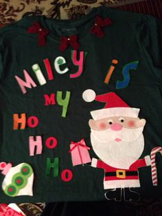 DIY ugly christmas sweater idea