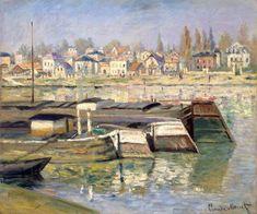 Claude Monet  La Seine à Asnières 1873