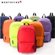 Backpacks  WORTHFIND 2016 Hot Sale!Fashion Canvas Women Shoulder Bags Vintage Women Backpack Casual Women Backpack New Women School Bag ** Clicking on the image will lead you to find similar product