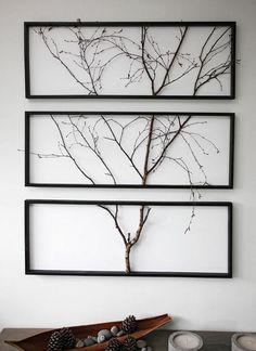 KOHDE 27. Luonnonläheinen taulu on kolmiosainen. Puu on oikea!