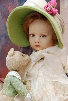 Lenci Doll...the face and body are of molded felt!