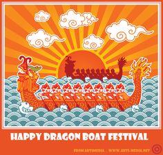 Happy Dragon Boat Festival from Artimedia!