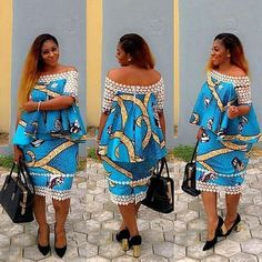 These ankara styles 2017 have been selected to quench your thirst for latest ankara styles, they are breathtaking and will make you look wonderful African Fashion Ankara, Latest African Fashion Dresses, African Dresses For Women, African Print Dresses, African Print Fashion, African Attire, African Wear, African Women, African Outfits
