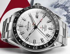 Les nouveautés  2014 des montres Alpina - Alpina 4 GMT