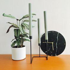 #kwantuminhuis Klok MARMO @delaatstewoontrends Planter Pots, Instagram Posts, House, Home, Haus, Houses, Homes