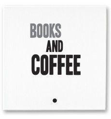hand-made canvass mintmouse.com #books #coffee
