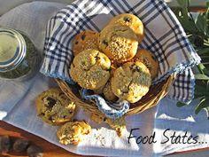 Μάφινς με ελιά (νηστίσιμα) - Food States Muffin, Breakfast, Blog, Morning Coffee, Muffins, Blogging, Cupcakes