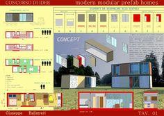 """Concorso Di Idee """"modern Modular Prefab Homes"""" - Picture gallery"""