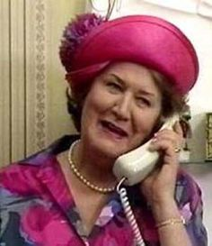 Hyacinth Bucket :: Keeping Up Appearances.... Use to watch this show with my parents.