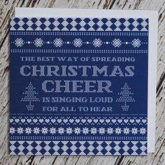 I AM NAT CHRISTMAS CARD - BLIX MAGAZINE